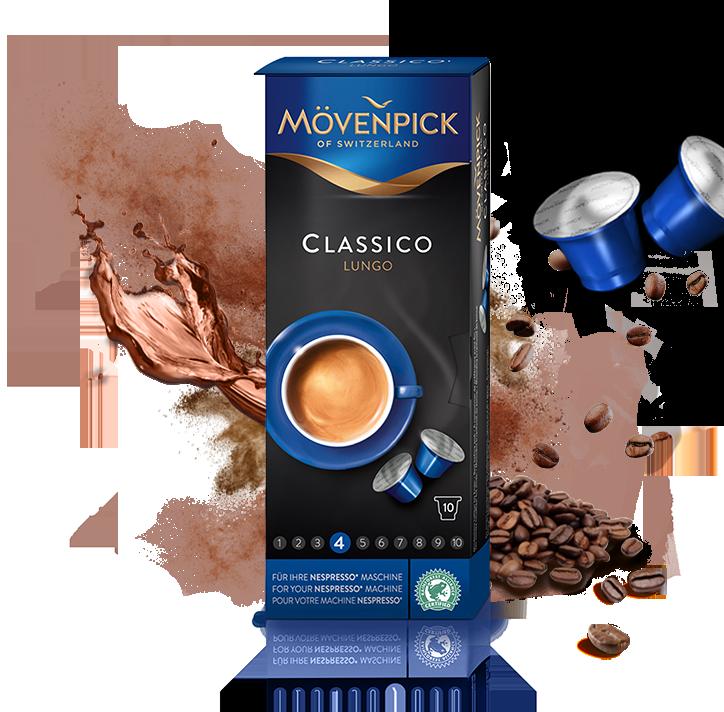 Nespresso Alternative | Lungo Kapseln - Mövenpick